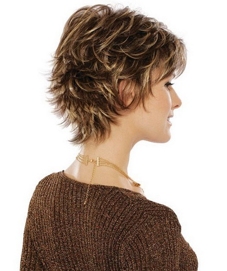 ... Short Hairstyles. on short choppy hairstyles with highlights for women