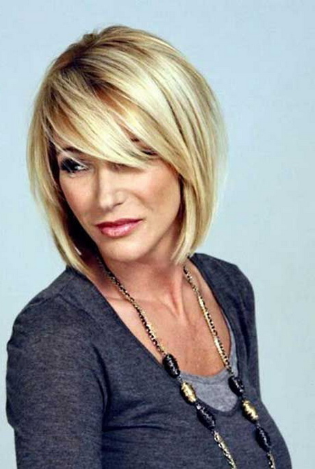 Layered Medium Hairstyles For Women Over 60 | Best Hairstyles ...