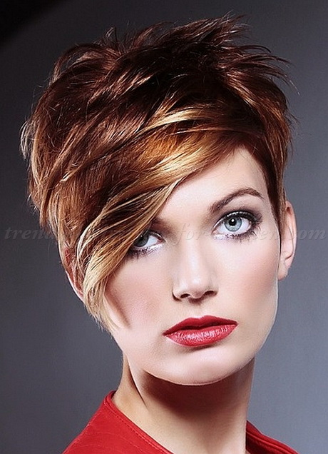 Short Hair Styles : short hair long bangs middot; short hairstyle