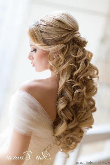 Wedding Hairstyle Ideas On Pinterest Wedding Hairs Long Hair Wedding