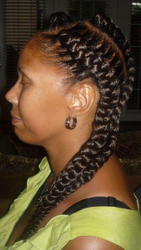 3 braids hairstyle