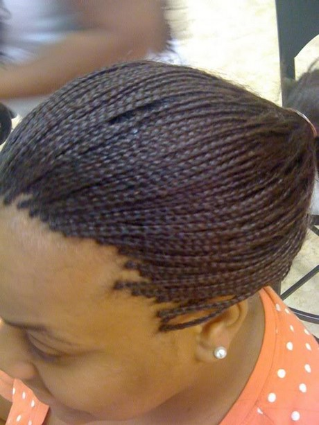 African Micro Braids