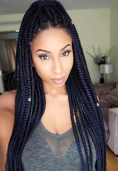 how to add extensions in to braids