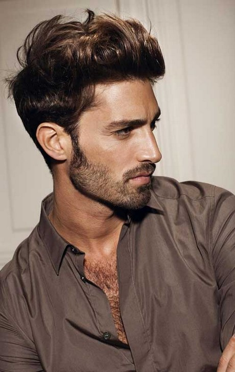 Cut hairstyle for man
