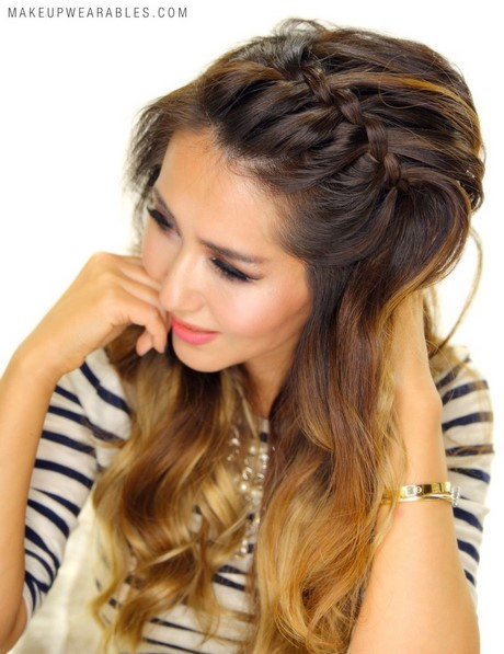 Easy Braided Headband Hairstyles  hair tutorial