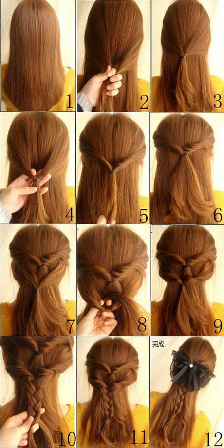 Hairstyle Easy : Easy back to school hairstyles ? Cute quick and easy braids for medium ...