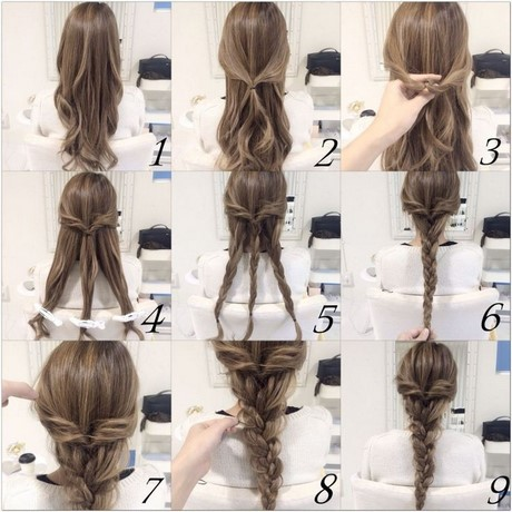 Cute easy hairstyle to do when in a hurrylt;lt;lt;I doubt it can