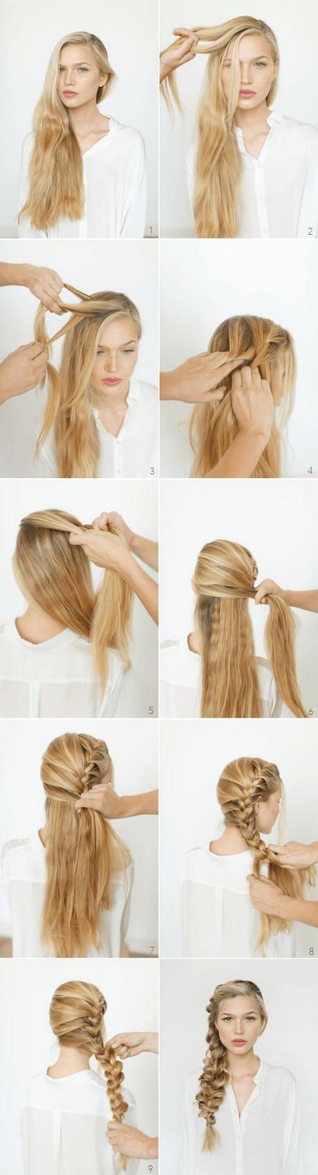 Как сделать себе причёску на длинные волосы с чёлкой