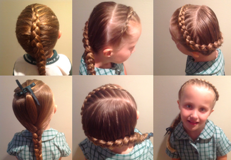easy braids for school - photo #4