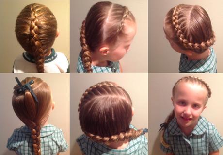 easy braids for school-#5