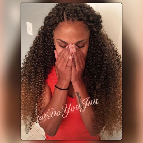 Crochet Braids Long Hair : 1000 ideas about long crochet braids on pinterest crochet