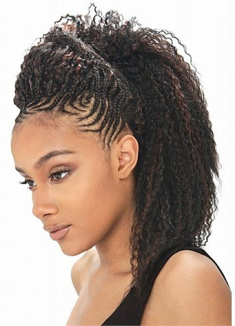 Crochet Hair Styles For Round Faces : ... Braids on Pinterest Mohawks Goddess braids and Protective styles