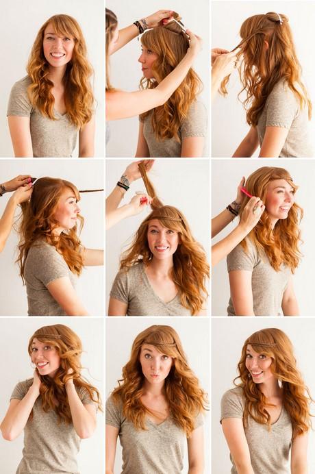 Как можно сделать себе кудряшки на волосах 994