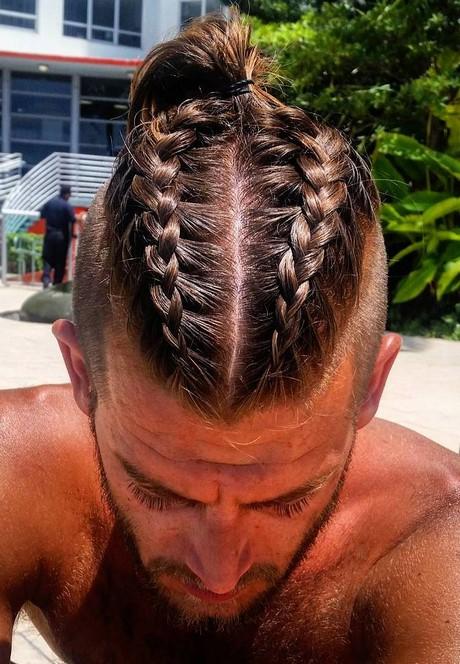 Cornrows men braids