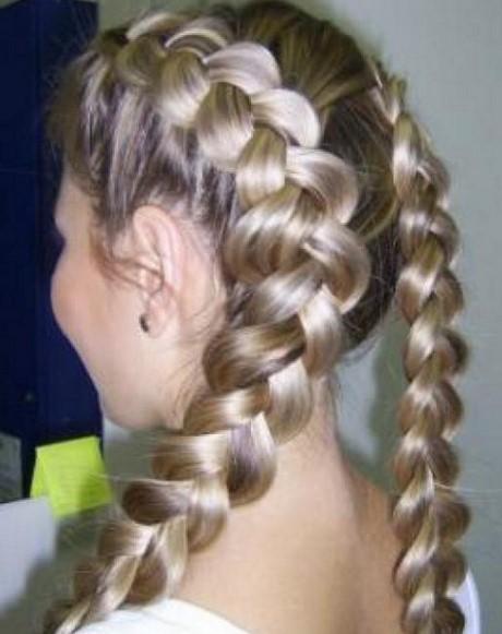 Плетение из кос на первое сентября