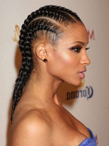 Ways to style braided hair