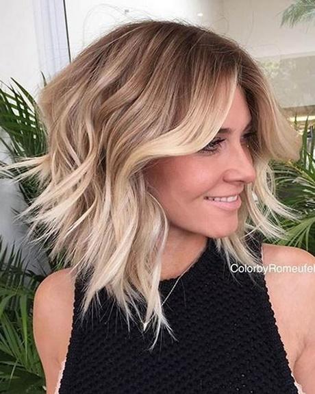 Blonde Hairstyles 2018