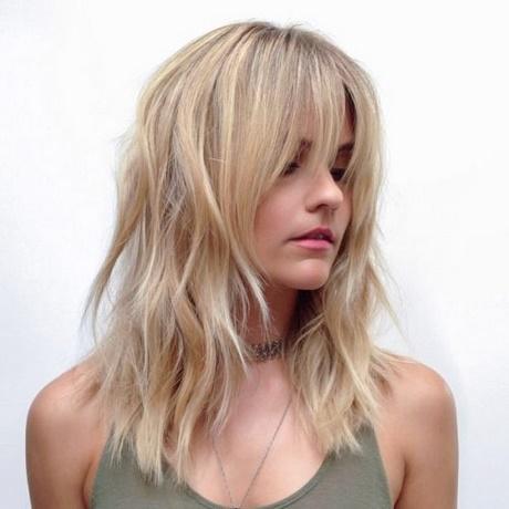 Layered Haircuts With Bangs 2018