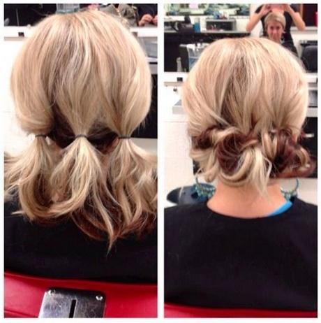 Quick Bun Hairstyles for Short / Medium Hair – Hair Tutorial …