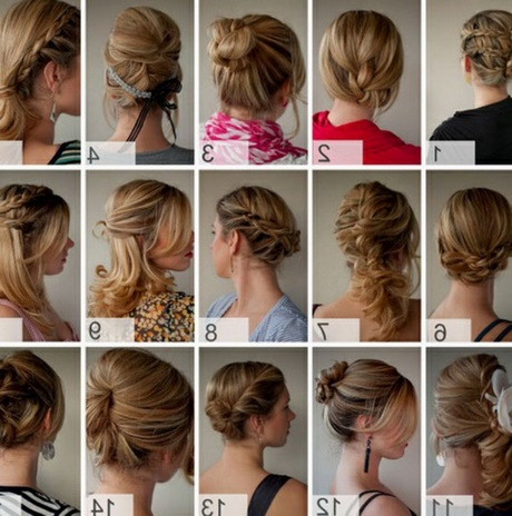 Cute Easy Up Hairstyles