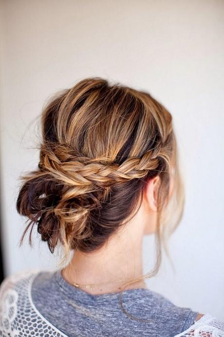 Easy Wedding Updos For Medium Hair
