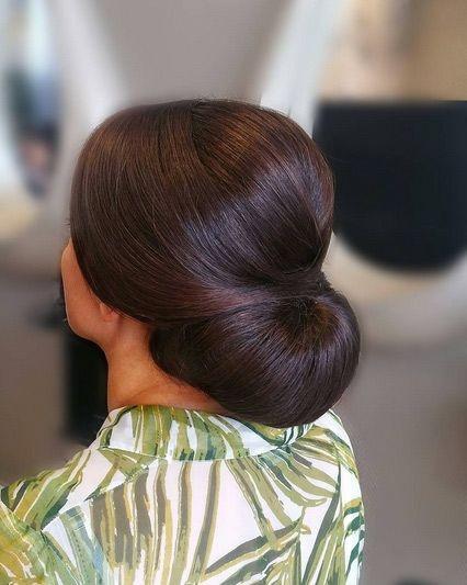 Elegant Buns For Medium Length Hair