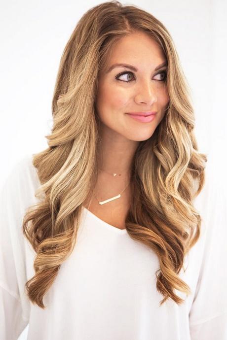 Prom hair loose curls