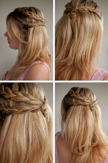 Prom Hairstyles For Long Straight Hair Down