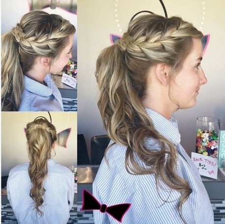 Prom Ponytails For Long Hair