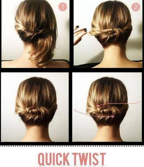 Quick And Easy Updos For Short Hair
