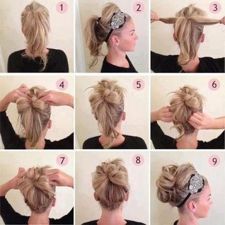 Short Hairstyles Ideas Awesome Sample Simple Updos For Hair Incredible Easy Way Tutorial Brown Blonde