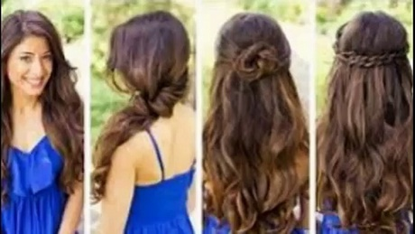 Easy Do It Yourself Hairstyles For Long Straight Hair Beautiful 31 Half Up Down Prom