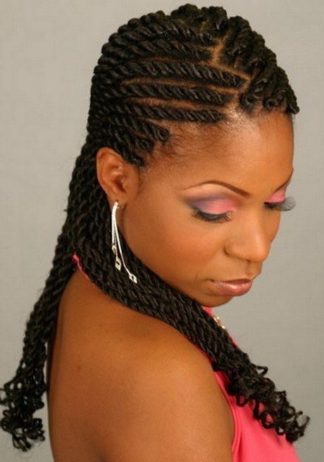2016 black braid hairstyles - Cute Weave Hairstyles