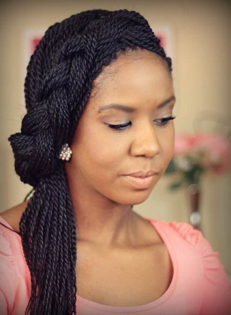 Hairstyle for Black Women long braided hairstyle for black women 2016