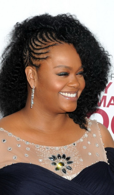 braid designs for black hair 2016 Cornrows Updo Hairstyle