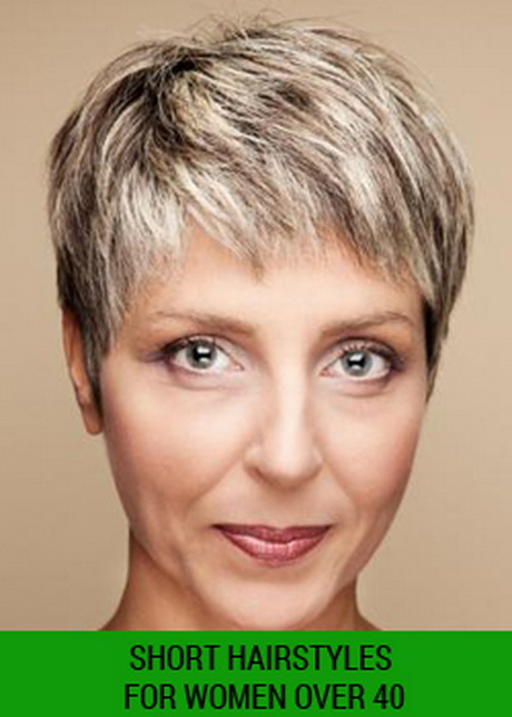 Hairstyles For Short Hair Over 40 : Short Hairstyles For Women Over 30 Pictures to pin on Pinterest