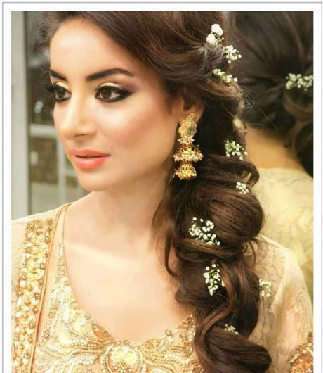 Latest Indian Wedding Hairstyles 2016 2017: Asian Bridal Hairstyles 2016