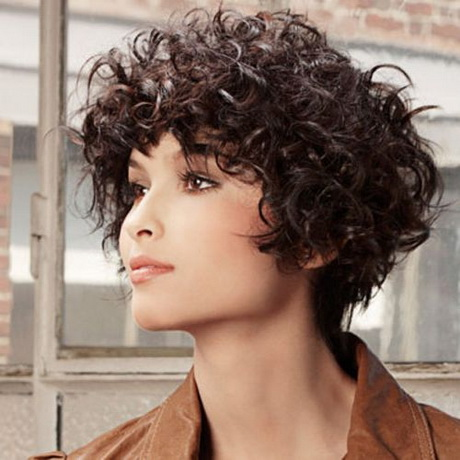 Curly bob hairstyles 2016 - Hairstyles For Chubby Faces