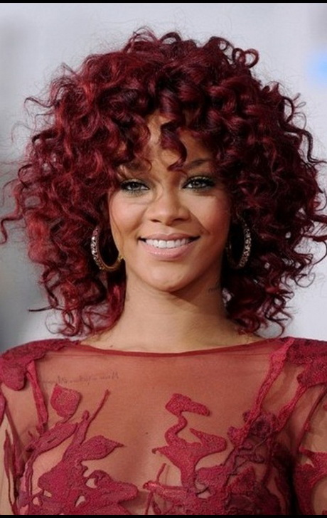hairstyle women curly-#13