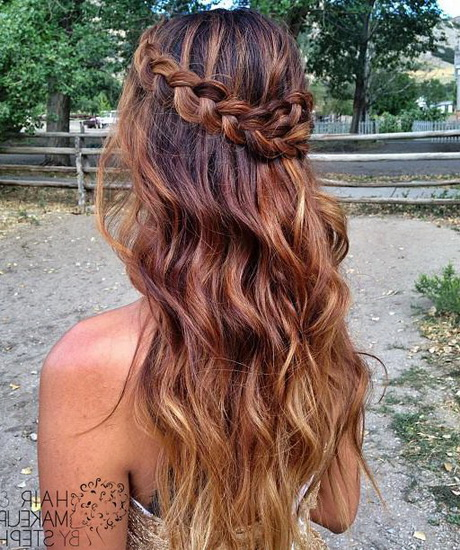 Hairstyles For Long Hair Updos For Formal : Cute prom hairstyles for long hair 2016