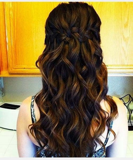 Prom Hairstyle Long Hair : Cute prom hairstyles for long hair