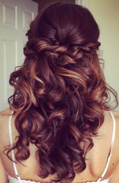 prom hairstyles for long hair down curly 2016