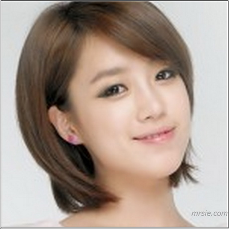 the gallery for gt korean hairstyle for girls straight