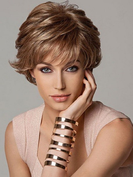 Short Hair : In order to style your short layered haircut into a festive hairstyle ...