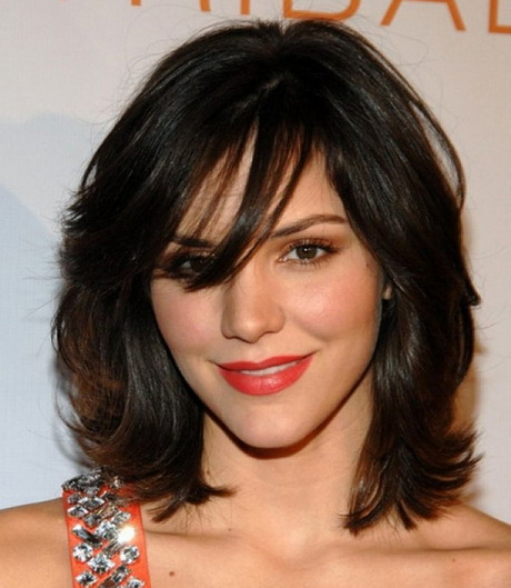Layered haircuts with bangs 2016