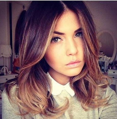 Hair colors : Hairstyle of Ombre on Medium Length Hair Trends Hair .