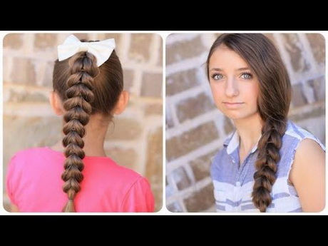 Easy Hairstyles for School 2015  2016 l Back To School Hairstyles ...