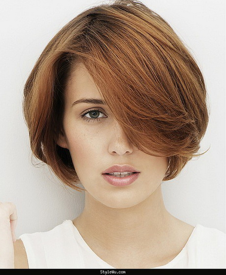 The 65 Best Short Hairstyles and Haircuts to Try Right Now. The new cool girl pixie cut is shorn on the sides with thick bangs at the 20+ Cute Short Hairstyles for Women from nichapie.ml;.