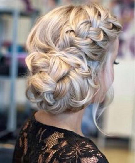 Cute Prom Updo Hairstyles 2015 Ideas: Elegant and easy braided updo ...
