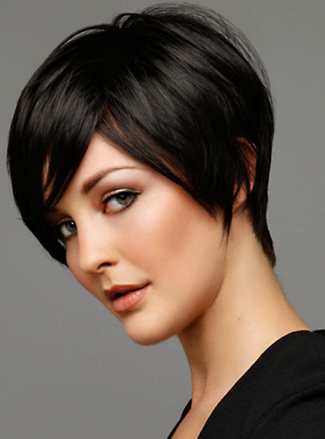 Short Bob Hairstyle with Side Bangs short bob hairstyle with side ...